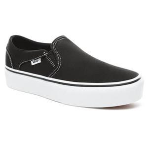 Wm Asher Platform Kadın Siyah Günlük Stil Ayakkabı VN0A3WMM3SY1