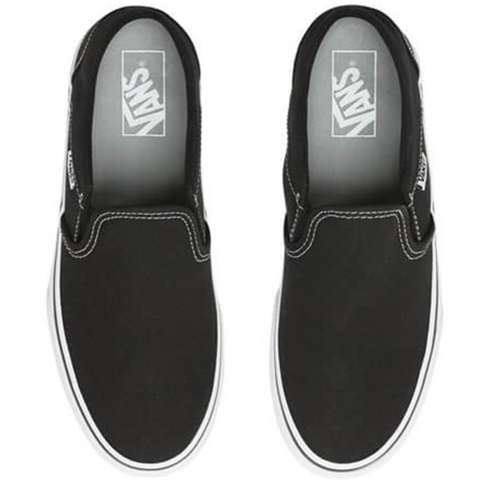 Wm Asher Platform Kadın Siyah Günlük Stil Ayakkabı VN0A3WMM3SY1 1279388