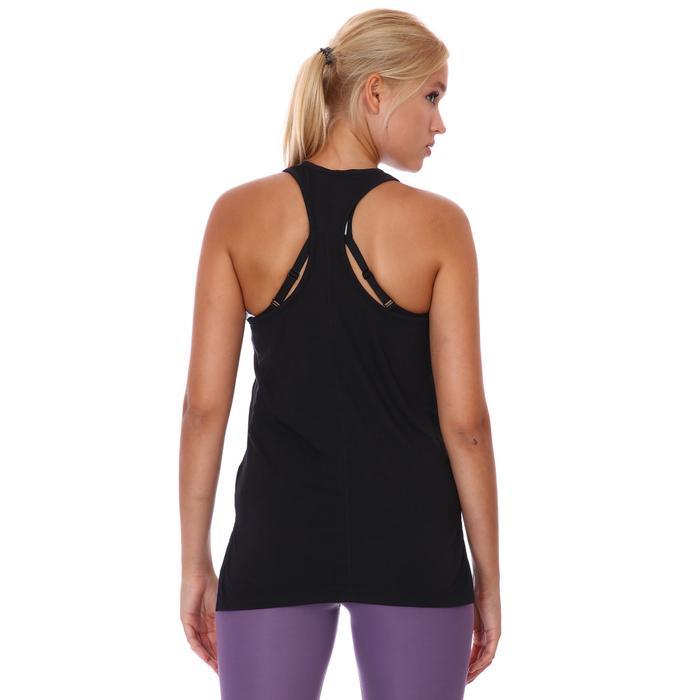 Yoga Layer Tank Kadın Siyah Antrenman Atleti CQ8826-010 1211309