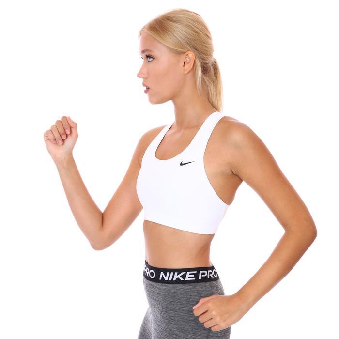 Swoosh Bra Non Pad Kadın Beyaz Antrenman Sporcu Sütyeni BV3630-100 1193566