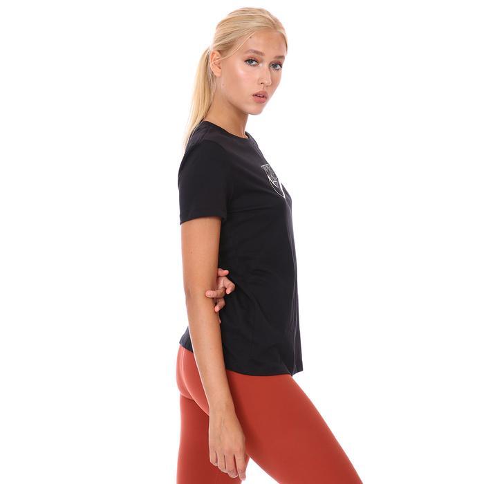 W Nsw Tee Futura Kadın Siyah Günlük Stil Tişört DJ1820-010 1308728