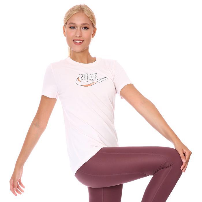 W Nsw Tee Futura Kadın Pembe Günlük Stil Tişört DJ1820-640 1308736