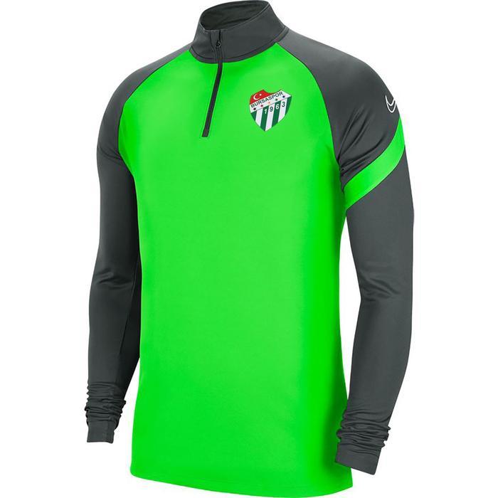Bursaspor Df Acdpr Top Ss Erkek Yeşil Futbol Uzun Kollu Tişört BV6916-398-BUR-DIG 1316753