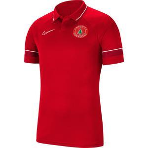Ümraniye 2021/22 Erkek Kırmızı Futbol Polo Tişört CW6104-657-UMR-DIG
