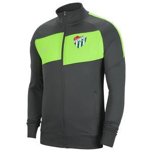 Bursaspor Df Acdpr Jkt K Erkek Siyah Futbol Ceket BV6918-060-BUR-DIG