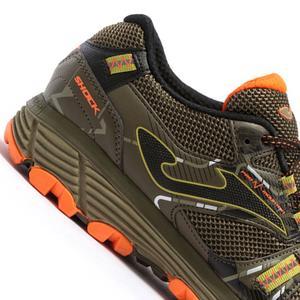 2123 Caqui Naranja Erkek Çok Renkli Günlük Stil Ayakkabı TKSHOW2123
