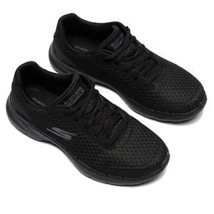 Go Walk 6 Kadın Siyah Günlük Stil Ayakkabı 124514 BBK