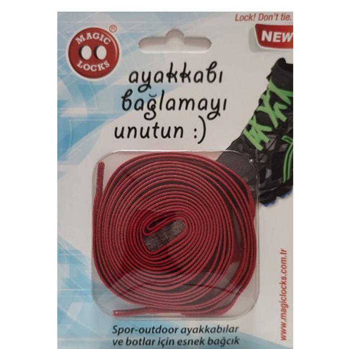 ML Unisex Kırmızı Ayakkabı Bağcığı 11B1 1279193