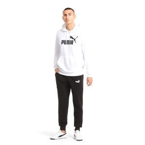 Ess Big Logo Hoodie Tr Puma White Erkek Beyaz Günlük Stil Sweatshirt 58668802