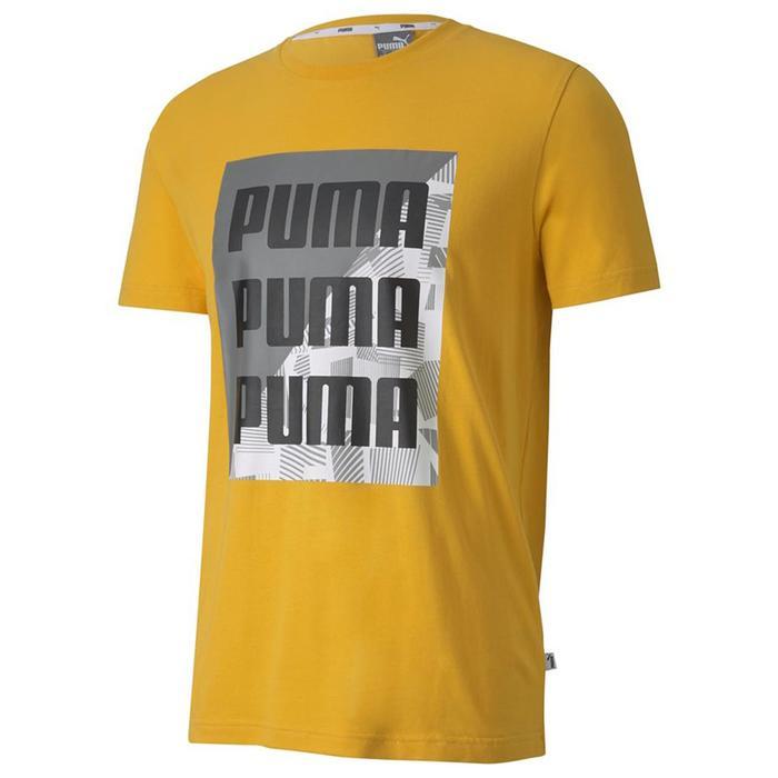 Summer Print Graphic Tee Golden Rod Erkek Sarı Günlük Stil Tişört 58416525 1219814