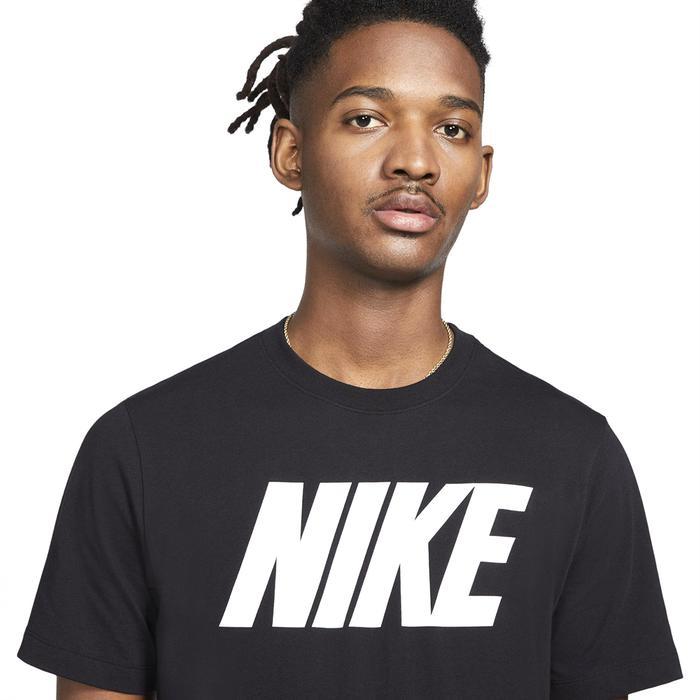 M Nsw Tee Icon Block Erkek Siyah Günlük Stil Tişört DC5092-010 1271733
