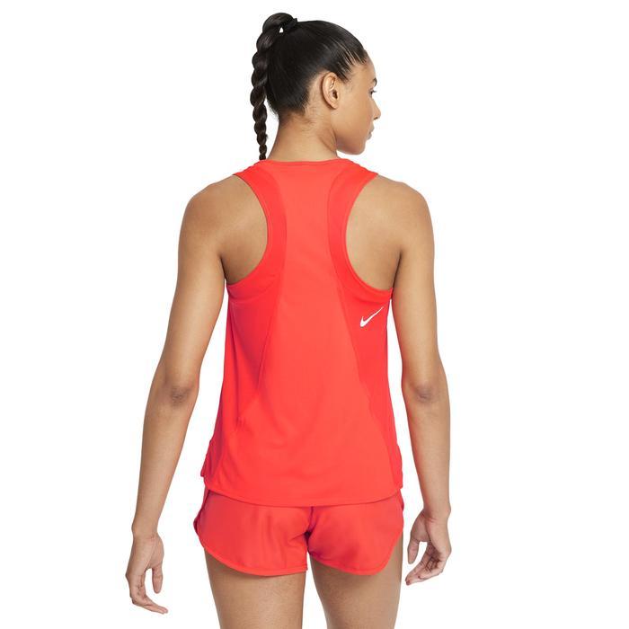 W Nk Df Race Singlet Kadın Kırmızı Koşu Atlet DD5940-635 1308110