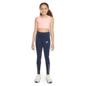 G Nk Df Air Legging Çocuk Mavi Günlük Stil Tayt DD7633-410