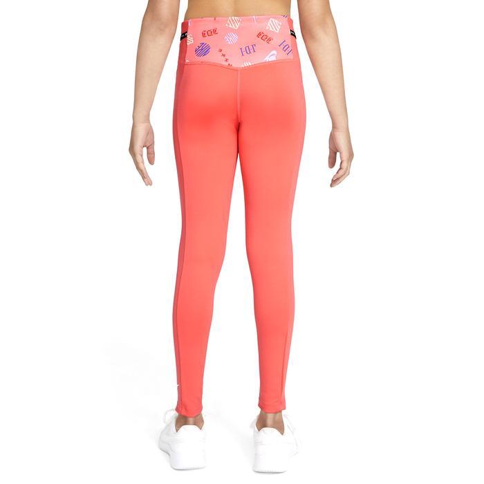 G Nk Df One Luxe Legging Aop Çocuk Turuncu Günlük Stil Tayt DD7638-814 1308300