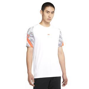 M Nk Df Strke21 Top Ss Erkek Beyaz Futbol Tişört CW5843-101
