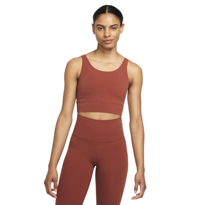 The Yoga Luxe Crop Tank Kadın Kırmızı Antrenman Atlet CV0576-670 1305486