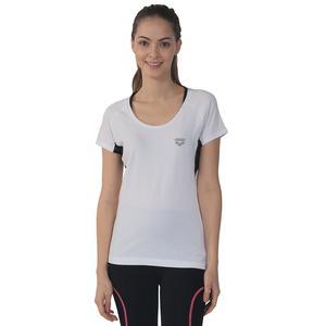 W Training + Kadın Beyaz Antrenman Tişört 3858915