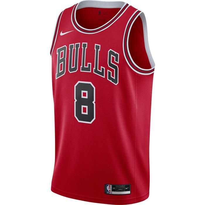 Chicago Bulls NBA Jsy Icon 20 Erkek Kırmızı Basketbol Atlet CW3660-660 1305725