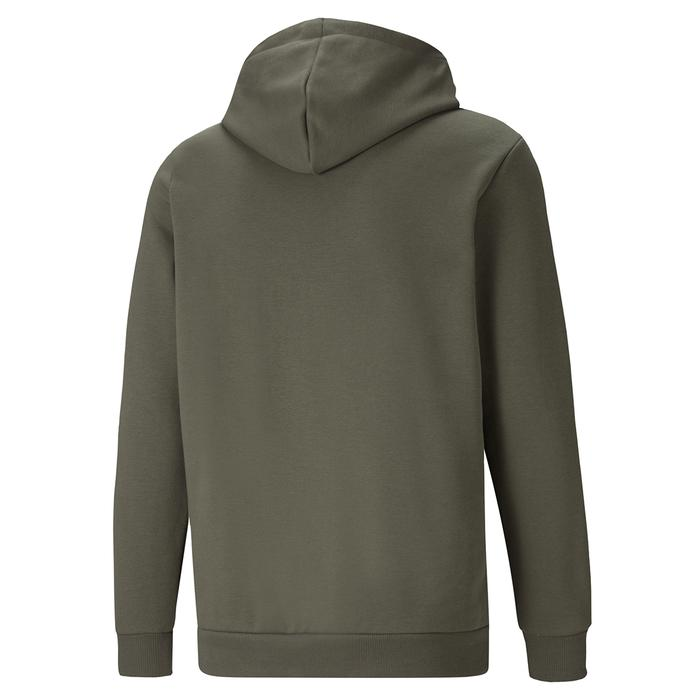 Ess Big Logo Hoodie Fl (S) Grape Leaf Erkek Mavi Günlük Stil Sweatshirt 58668744 1246790