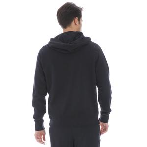 M Nsw Club Hoodie Fz Ft Erkek Siyah Günlük Stil Sweatshirt BV2648-010