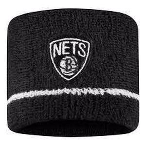 Nba Wristbands- Nets Unisex Siyah Basketbol Bileklik N.100.2684.010.OS