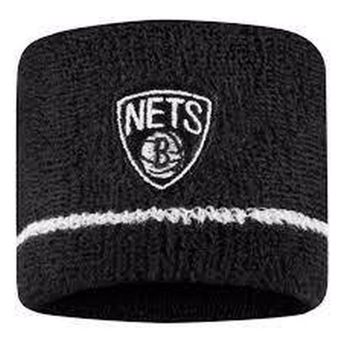 Nba Wristbands- Nets Unisex Siyah Basketbol Bileklik N.100.2684.010.OS 1170614