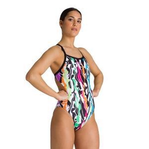 Flex Challenge Back One Piece Kadın Siyah Yüzücü Mayo 003487500