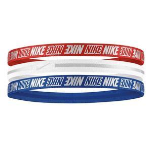Metallic Headbands 3Pk 2.0 Unisex Kırmızı Antrenman Saç Bandı N.000.2755.952.OS