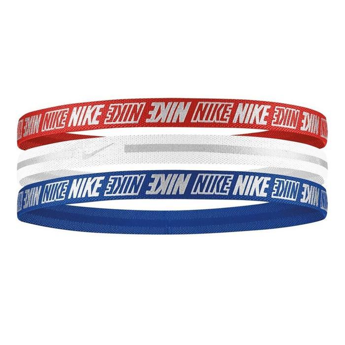 Metallic Headbands 3Pk 2.0 Unisex Kırmızı Antrenman Saç Bandı N.000.2755.952.OS 1170679