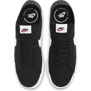 Court Legacy Cnvs Erkek Siyah Günlük Stil Ayakkabı CW6539-002