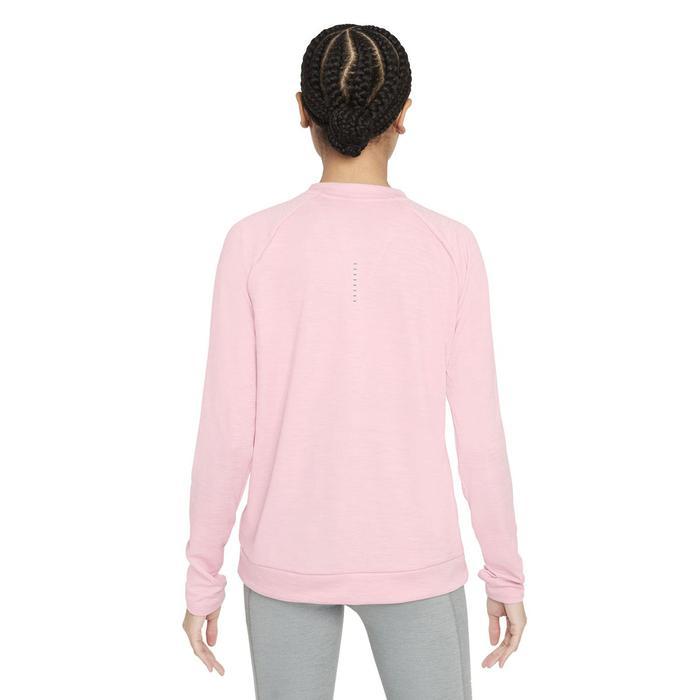 W Nk Df Pacer Crew Kadın Pembe Koşu Uzun Kollu Tişört CU3270-630 1305177