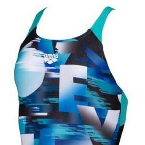 Swim Love Jr Swim Pro Back One Piece Çocuk Çok Renkli Yüzücü Mayo 003556580