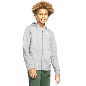 B Nsw Hoodie Fz Club Çocuk Siyah Günlük Stil Sweatshirt BV3699-091