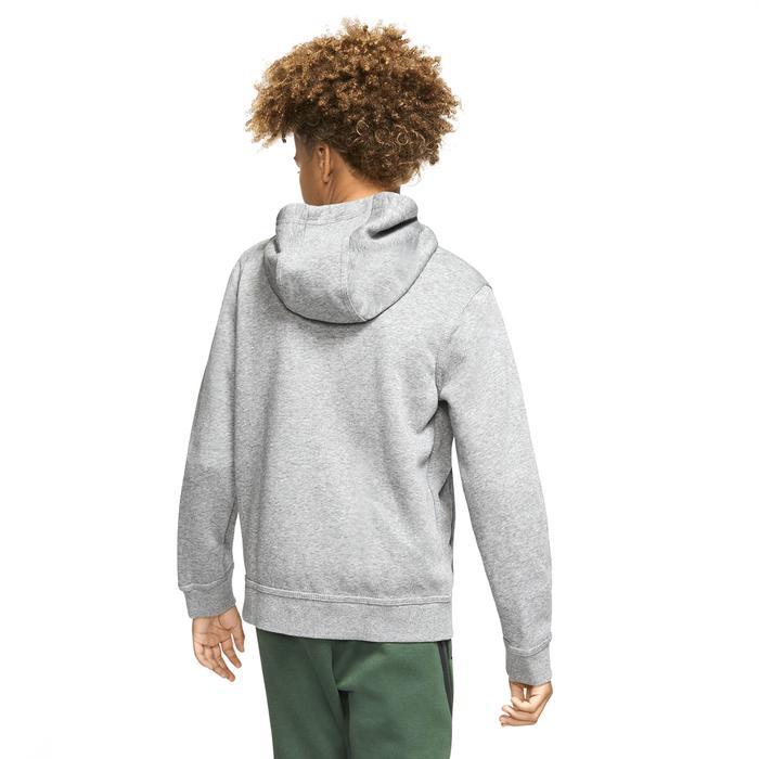 B Nsw Hoodie Fz Club Çocuk Siyah Günlük Stil Sweatshirt BV3699-091 1304550