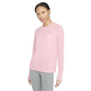 W Nk Df Pacer Crew Kadın Pembe Koşu Uzun Kollu Tişört CU3270-630