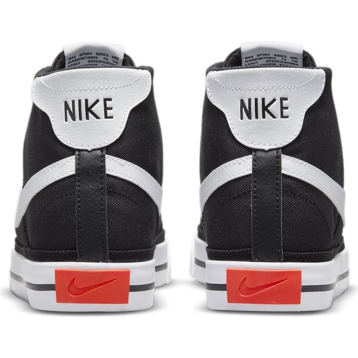 Court Legacy Cnvs Mid Erkek Siyah Günlük Stil Ayakkabı DD0162-001 1307371