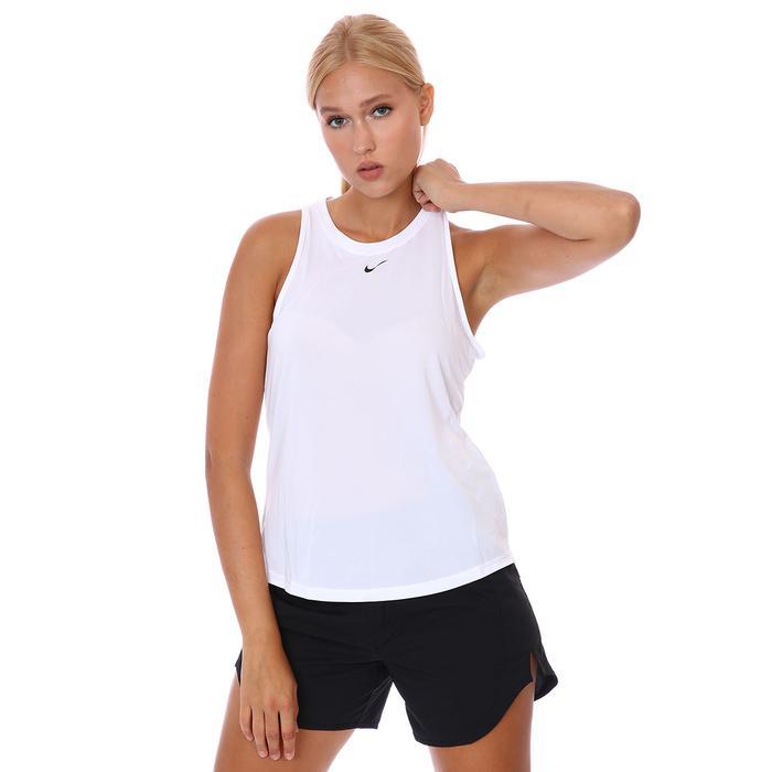 W Nk One Df Std Tank Kadın Beyaz Antrenman Atlet DD0636-100 1307463