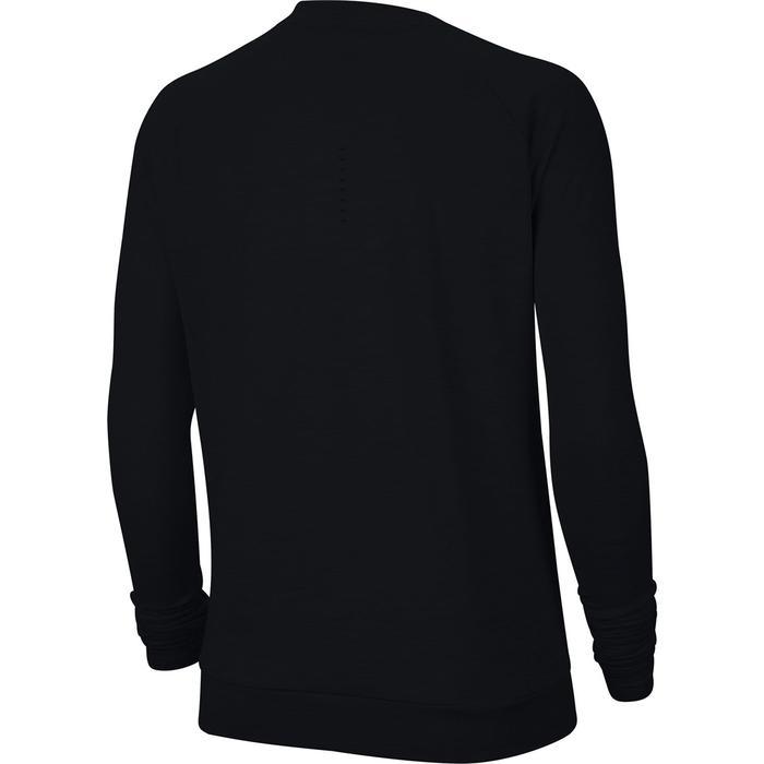 W Nk Df Pacer Crew Kadın Siyah Koşu Uzun Kollu Tişört CU3270-010 1305171