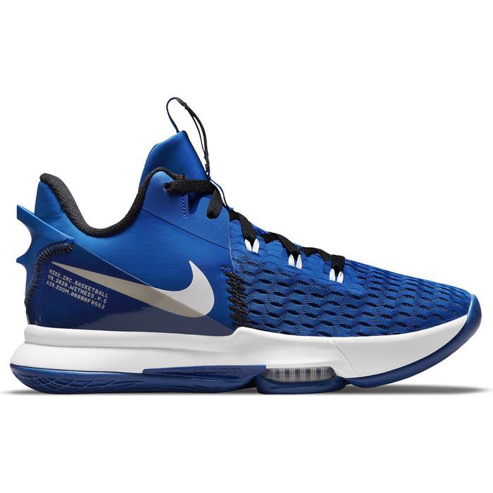 Lebron Witness V NBA Unisex Mavi Basketbol Ayakkabısı CQ9380-400 1305053