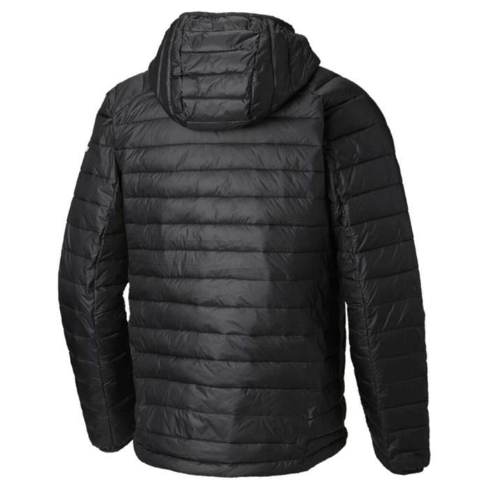 Snow Country Hooded Jacket Erkek Siyah Outdoor Mont WO0872-010 1321517