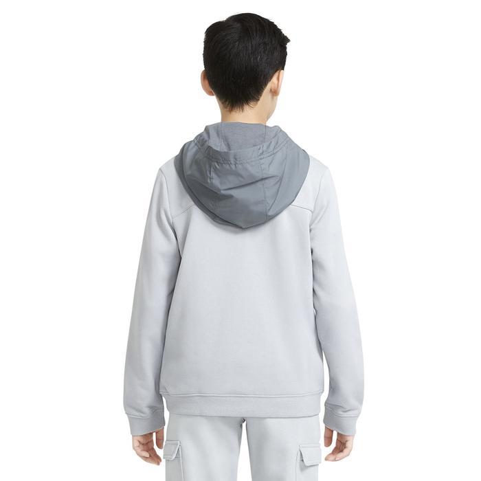 B Nsw Elevated Trims Fz Çocuk Siyah Günlük Stil Sweatshirt DD8704-077 1308375