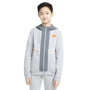 B Nsw Elevated Trims Fz Çocuk Siyah Günlük Stil Sweatshirt DD8704-077
