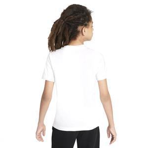 B Nsw Tee Camo Futura Çocuk Beyaz Günlük Stil Tişört DJ6618-100