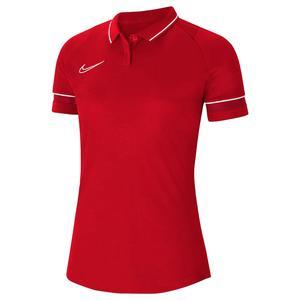 Dri-Fit Academy Kadın Kırmızı Futbol Polo Tişört CV2673-657