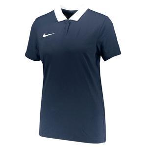 Dri-Fit Park Kadın Mavi Futbol Polo Tişört CW6965-451