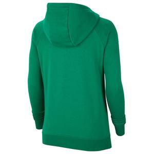 W Nk Flc Park20 Po Hoodie Kadın Yeşil Futbol Sweatshirt CW6957-302