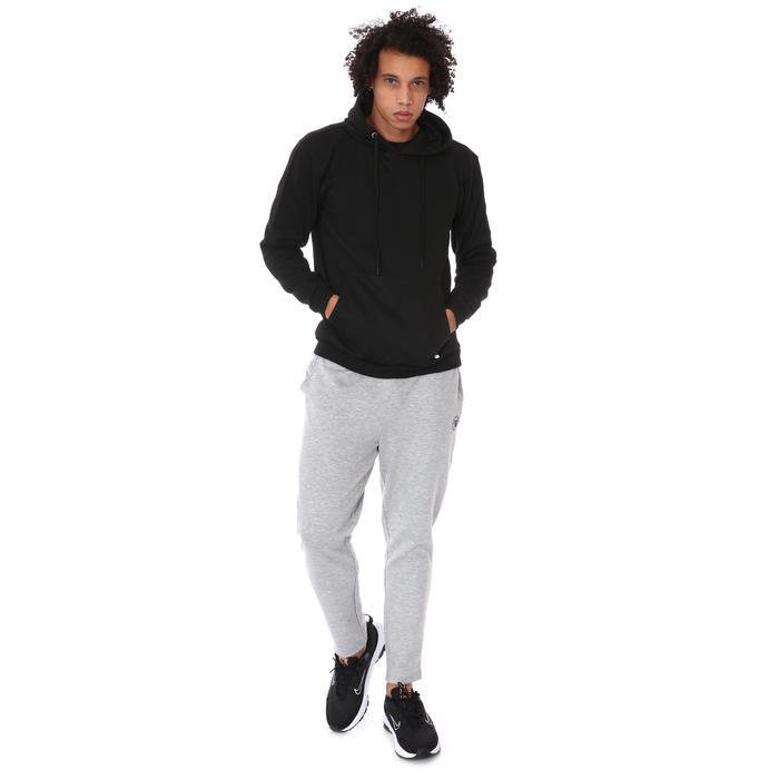 Spo-Shoodie Erkek Siyah Günlük Stil Sweatshirt 712203-SYH 1280595