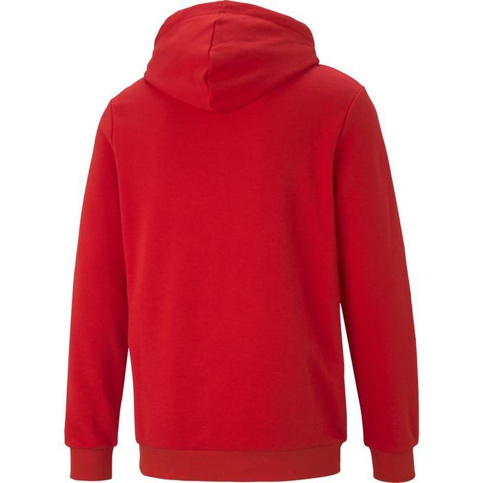 Ess Big Logo Hoodie Erkek Kırmızı Günlük Stil Sweatshirt 58668811 1218067