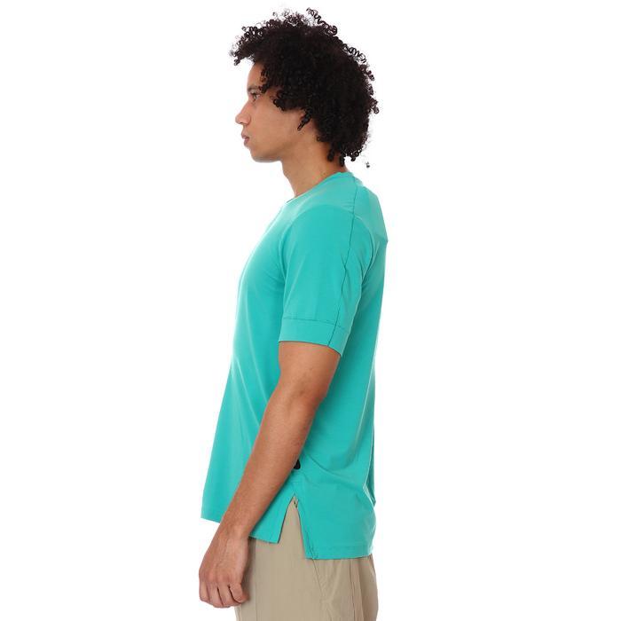 Yoga Erkek Yeşil Antrenman Tişört BV4034-370 1285618