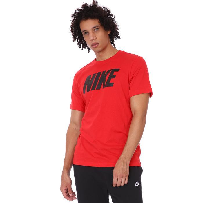 M Nsw Tee Icon Block Erkek Kırmızı Günlük Stil Tişört DC5092-657 1307279